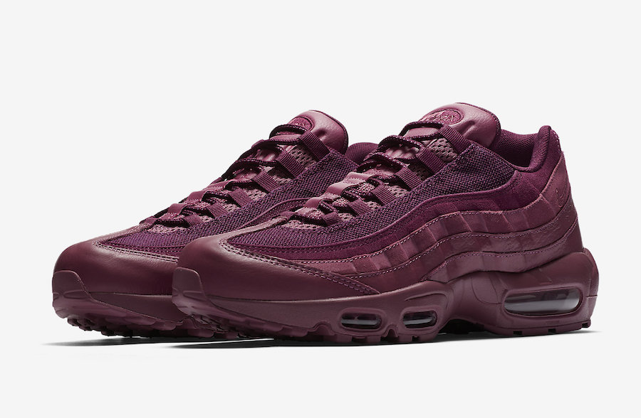 new product 0ddc0 c2599 Nike Air Max 95 Vintage Wine 538416-601