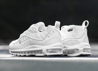 Nike Air Max 98 White Pure Platinum