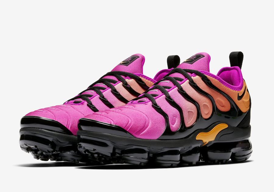 91cb1f86b4957 Nike Air VaporMax Plus Pink Orange AO4550-004 - Sneaker Bar Detroit