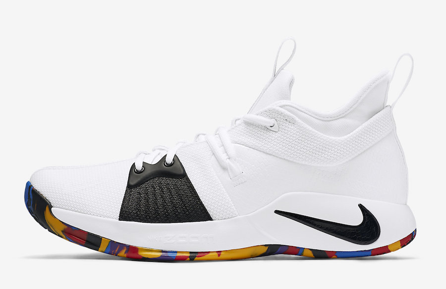 Nike PG 2 March Madness AJ5163-100