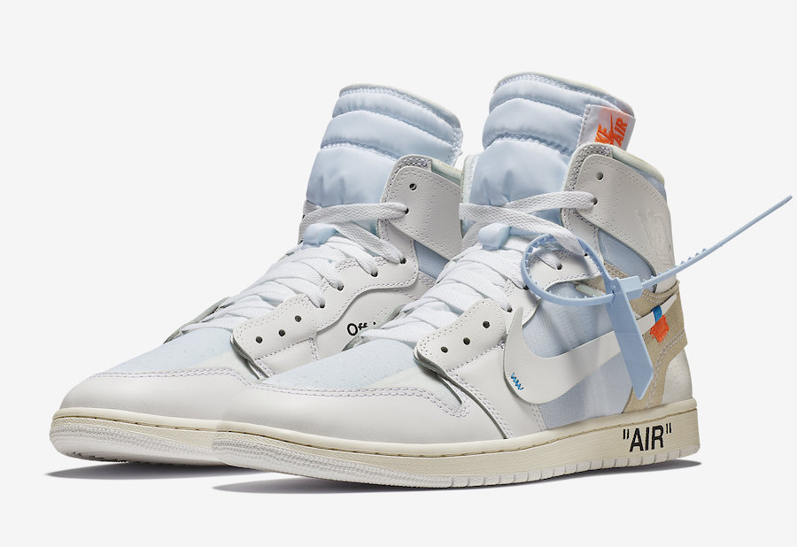 air jordan for off white
