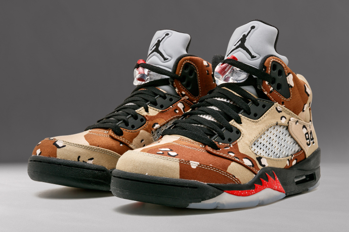 b38143ffd66 One of the biggest releases back in 2015 was the Supreme x Air Jordan 5 ...