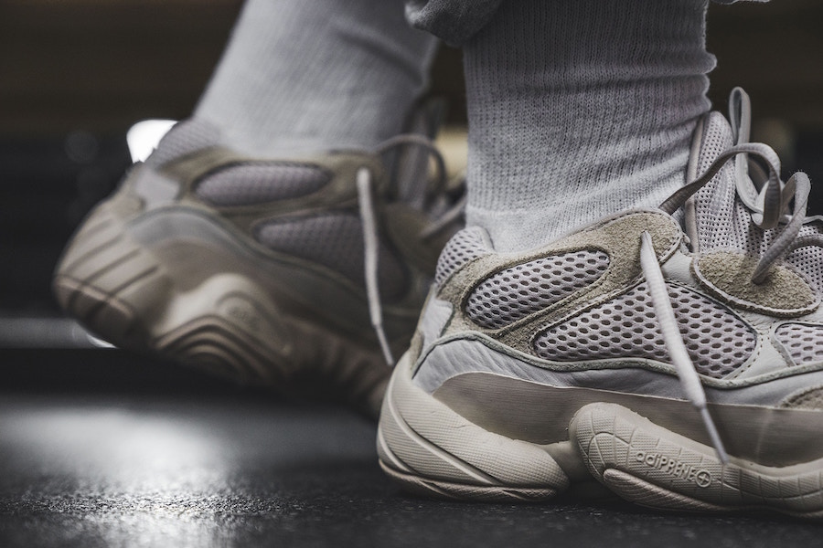 YEEZY Desert Rat Blush On-Feet