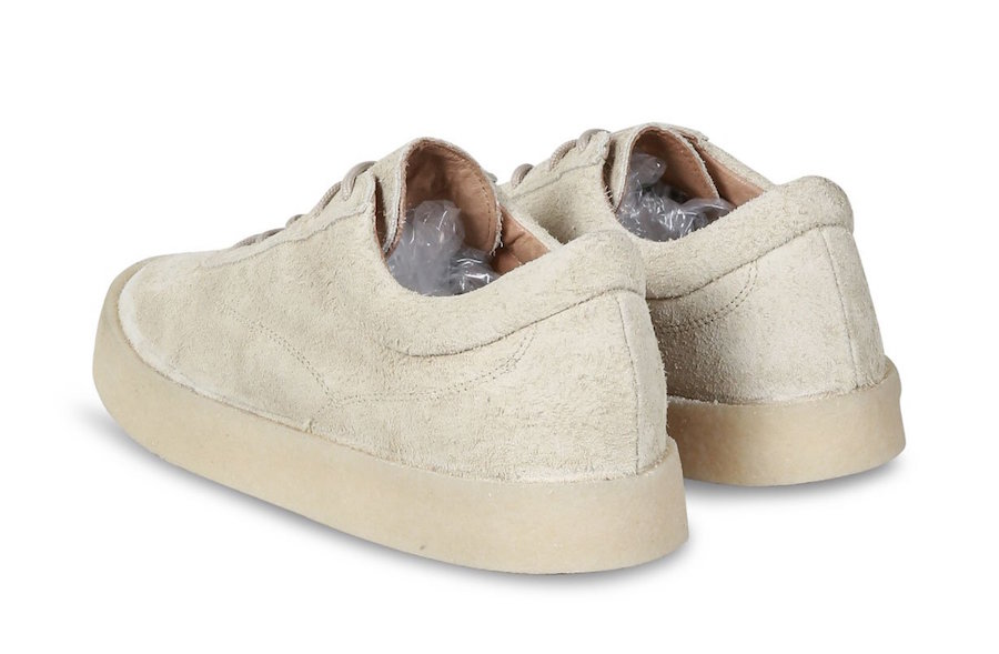 3c208d28acc Yeezy Season 6 Snaggy Suede Crepe. Yeezy Chalk Thick Snaggy Suede Crepe  Sneaker
