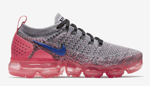 2d7bff703a5 Nike WMNS Air VaporMax 2.0. Color  Grey Ultramarine-Hot Punch Style Code   942843-104. Release Date  March 22