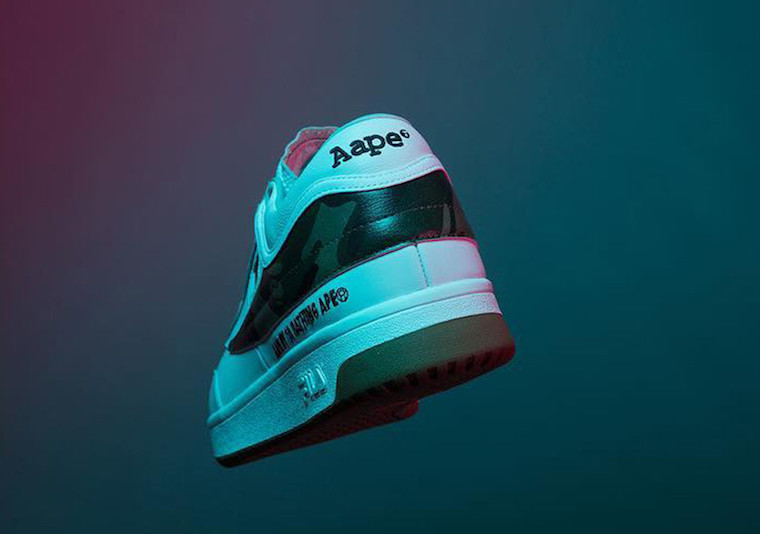 AAPE by A Bathing Ape x FILA Original Tennis