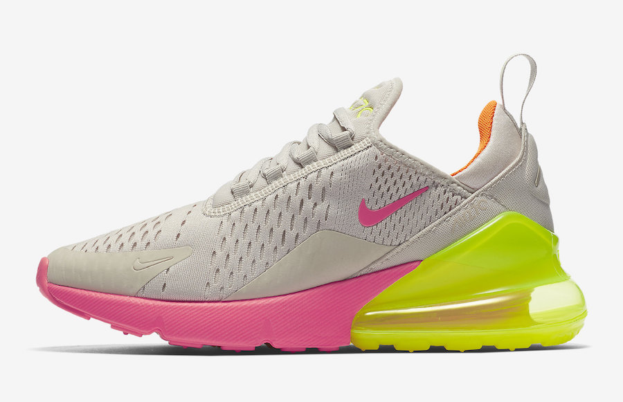 nike air max 270 neon pink orange ah6789 005 sneaker bar detroit. Black Bedroom Furniture Sets. Home Design Ideas