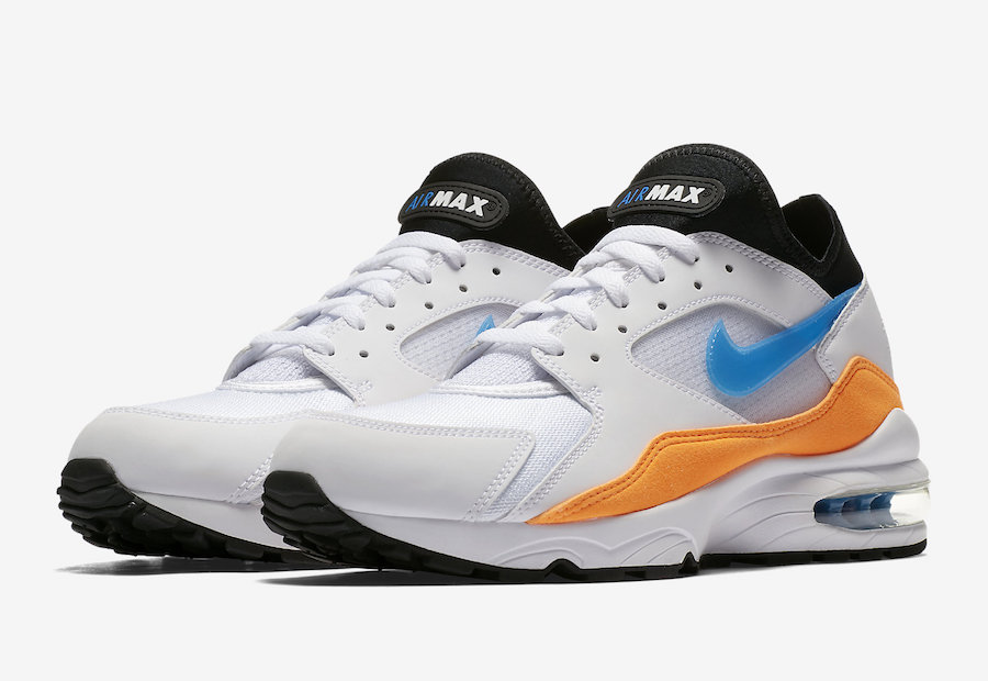 Nike Air Max 93 Blue Nebula Total Orange 306551-104