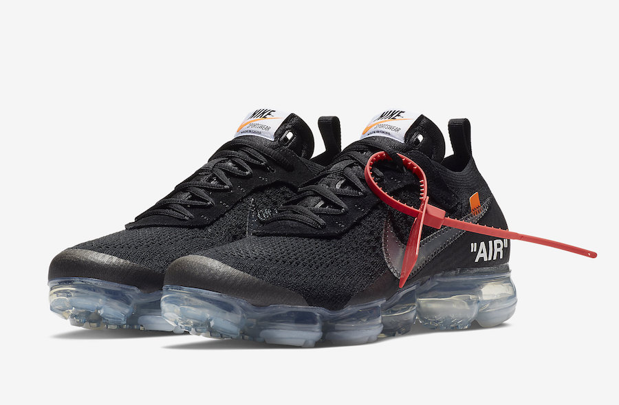 buy online a1c66 60e94 Off-White x Nike Air VaporMax Flyknit Black AA3831-002