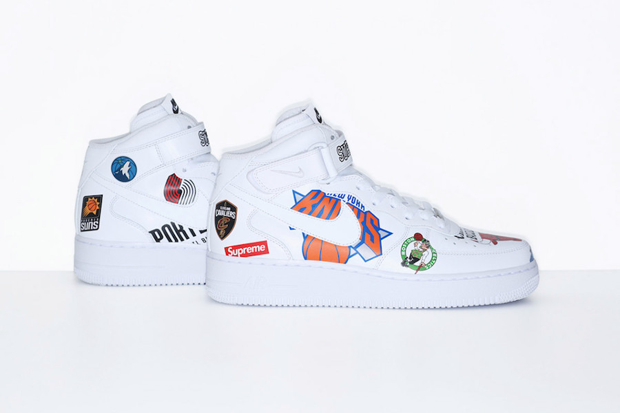 Supreme Nike NBA Collection Release Date