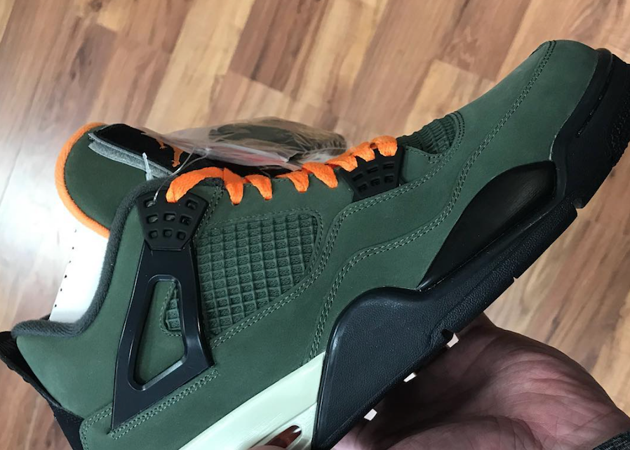 new style e5f44 8251c Undefeated Air Jordan 4 2018 Release Date - Sneaker Bar Detroit