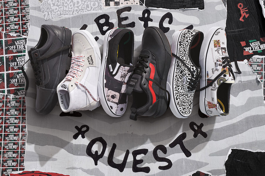 fe66123474 A Tribe Called Quest Vans Collection Release Date - Sneaker Bar Detroit