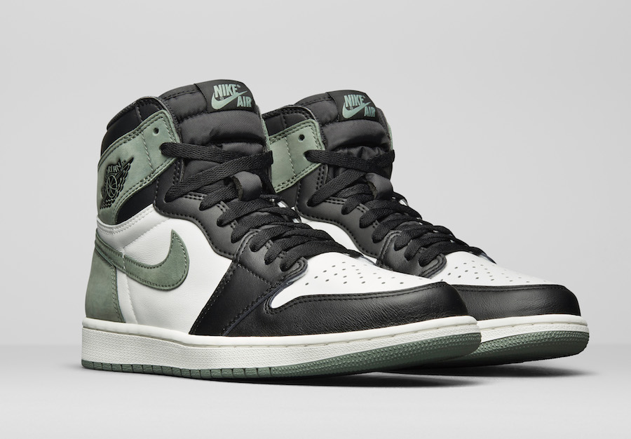 1e2e1e74044 Air Jordan 1 Clay Green 555088-135 Release Date - Sneaker Bar Detroit