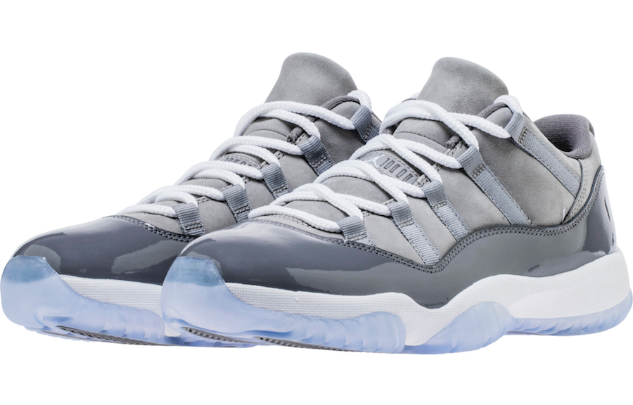 Air Jordan 11 Low Cool Grey 528895-003 Release Date