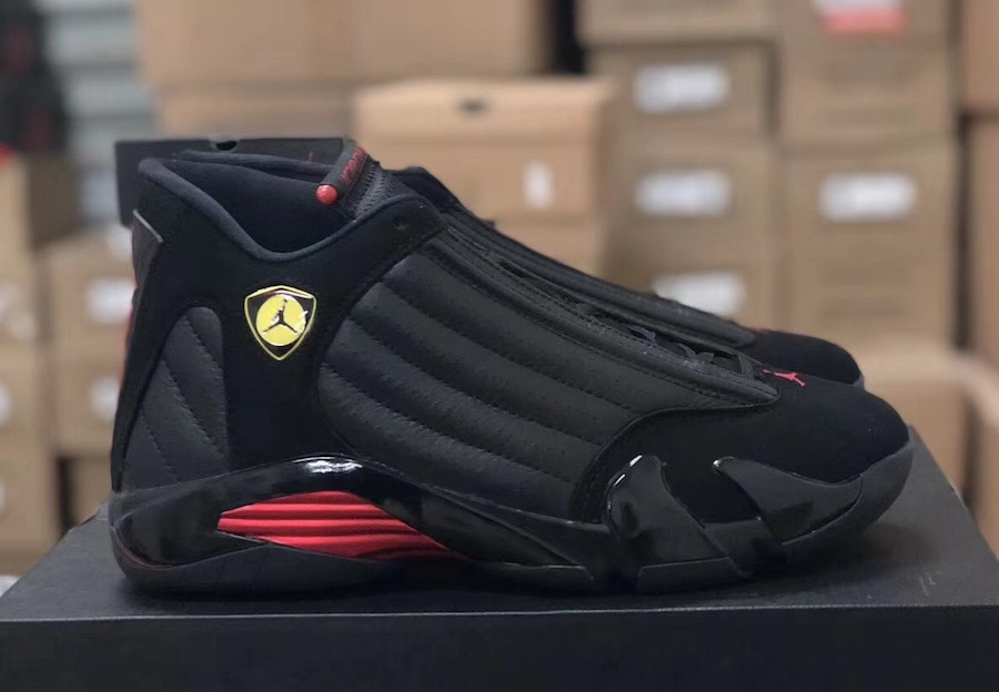 Air Jordan 14 Last Shot 20th Anniversary 2018 Sneaker Bar Detroit