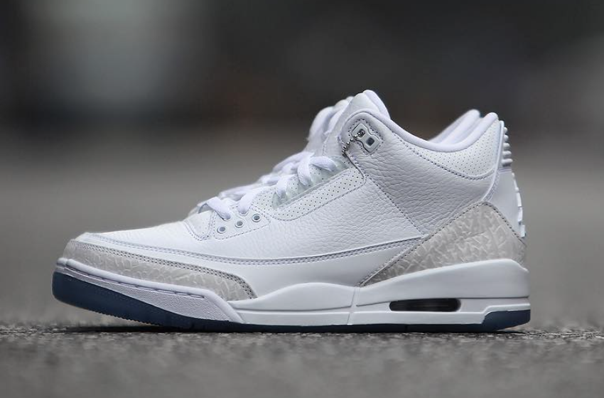 Air Jordan 3 Pure Triple White