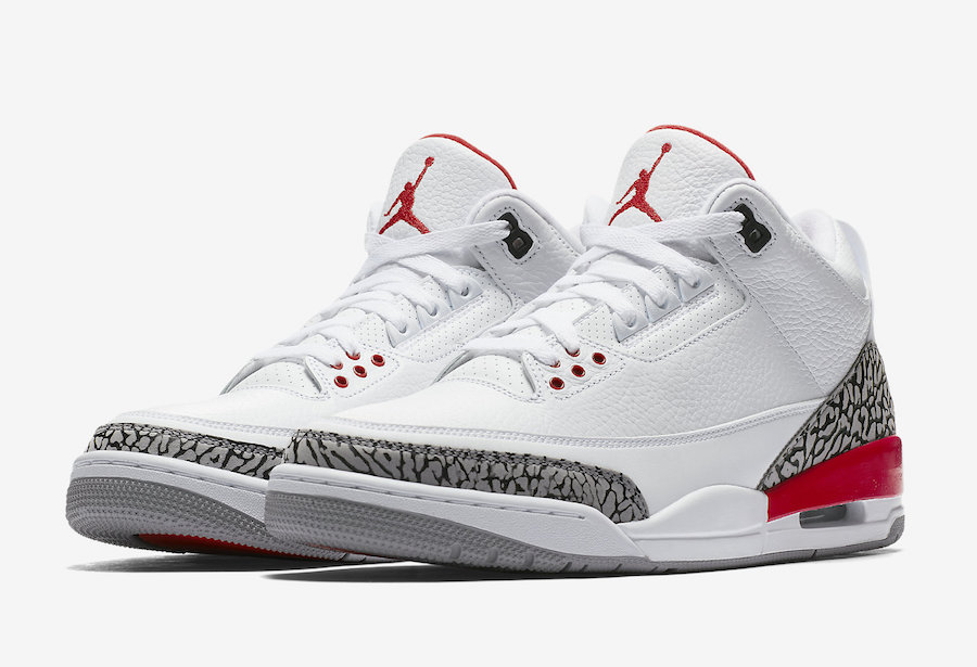 sports shoes f5d36 cc131 Katrina Air Jordan 3 Release Date 136064-116 - Sneaker Bar Detroit