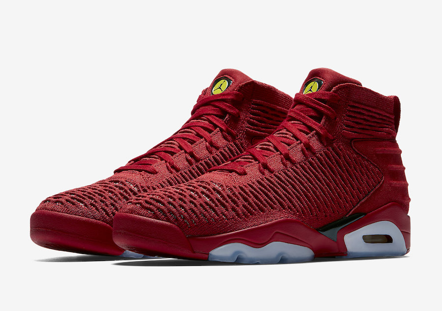 491e7792854 Jordan Flyknit Elevation 23 University Red AJ8207-601 - Sneaker Bar ...