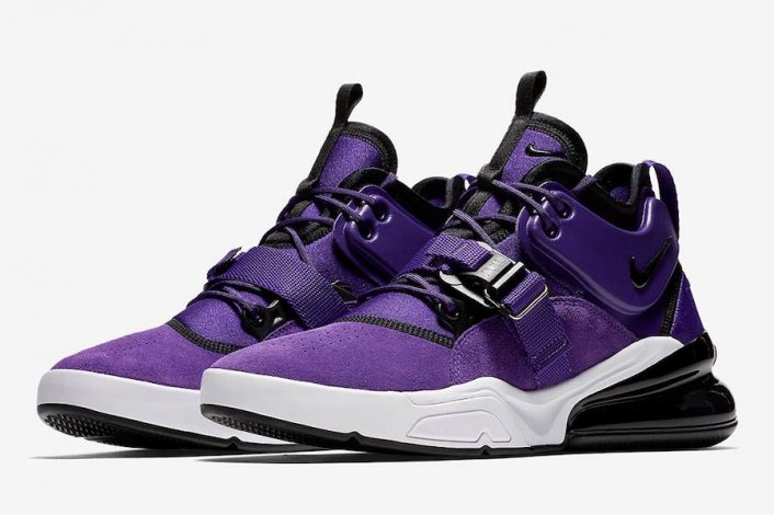 Nike Air Force 270 Court Purple AQ1000-500 Release Date