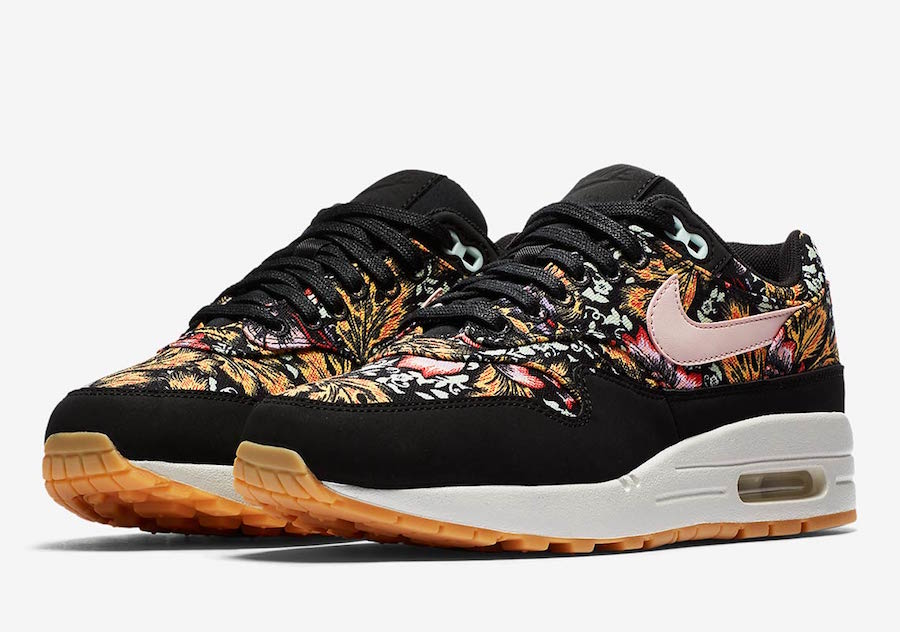 size 40 8999d 3ef27 Nike Air Max 1 Floral 633737-003