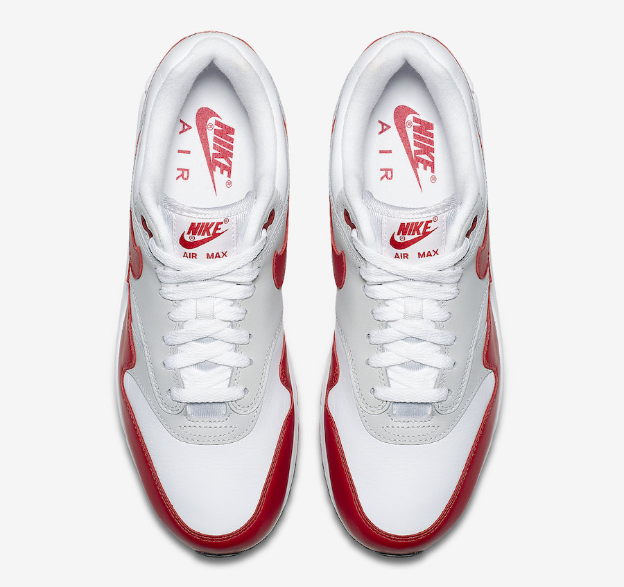 Nike Air Max 90/1 OG White University Red AJ7695-100