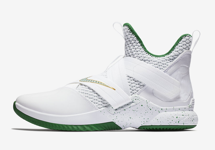 Nike LeBron Soldier 12 SVSM Home AO2609 100 Sneaker Bar