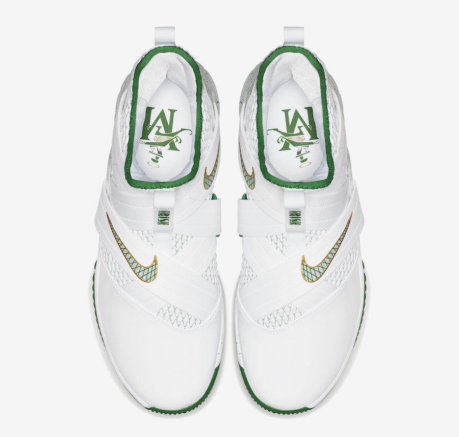 newest 78b47 a8932 Nike LeBron Soldier 12 SVSM Home AO2609-100 - Sneaker Bar ...