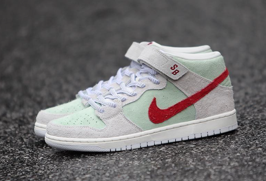 save off cd6b3 11809 Nike SB Dunk Mid White Widow Release Date