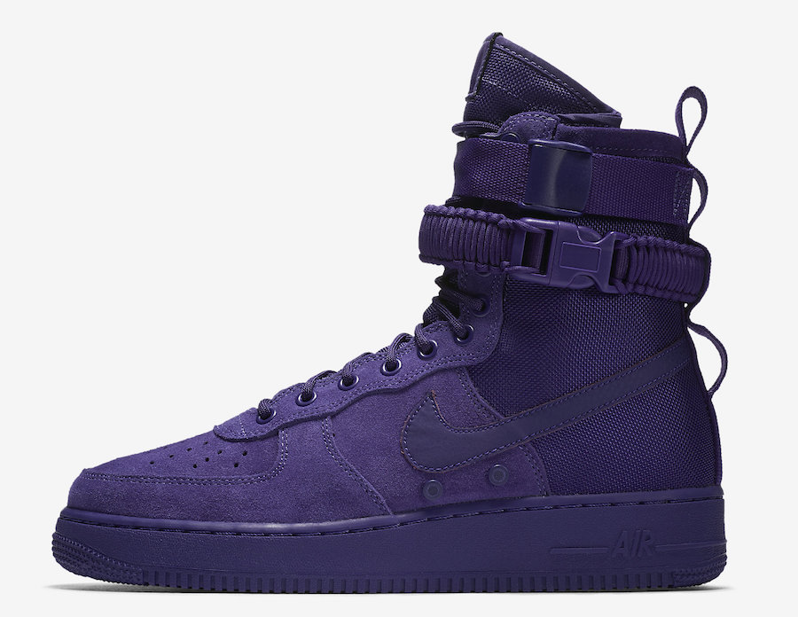 Nike SF-AF1 Court Purple 864024-500 Release Date