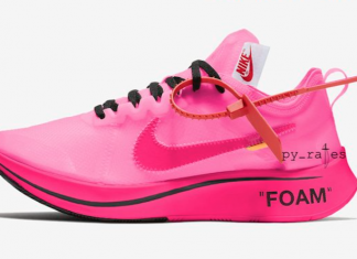 Off-White Nike Zoom Fly Pink Collection Release Date