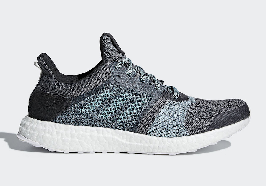 Adidas UltraBoost ST Parley Grey/Blue Spirit Running Shoes Sneakers 2018 DB0925