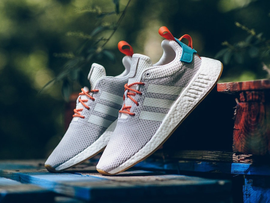 adidas NMD R2 Boost Summer Sneakers In CQ3080 zz9SFglG3