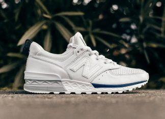 New Balance 574 Sport White Blue