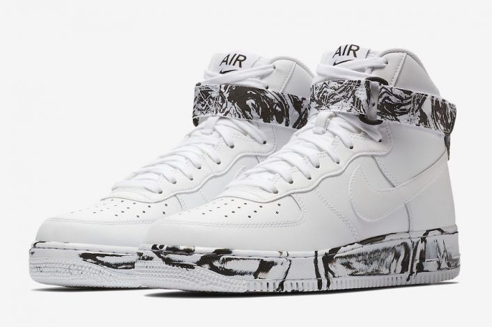 Nike Air Force 1 High Marble Pack