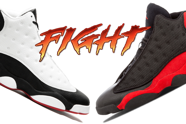 reputable site 53ec6 d5149 Air Jordan 13 He Got Game Air Jordan 13 Bred - Sneaker Bar ...