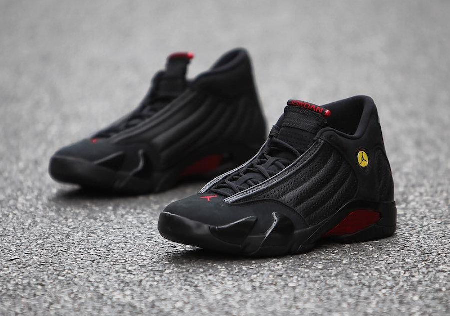 1f9da9ceb503 Air Jordan 14 Last Shot 20th Anniversary 2018 - Sneaker Bar Detroit