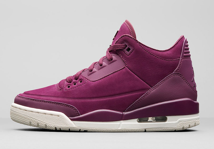 Air Jordan 3 Bordeaux AH7859-600 Release Date Price