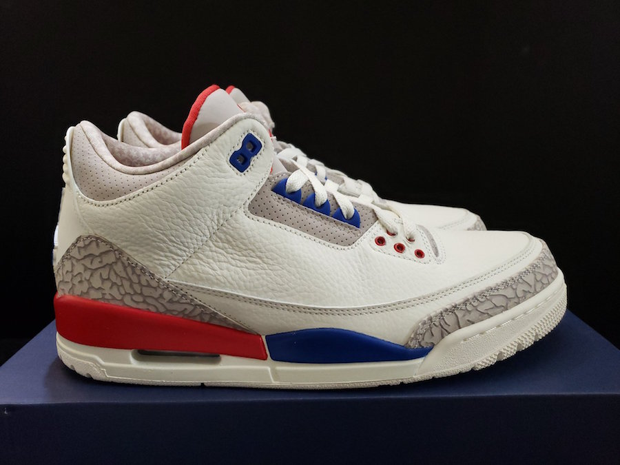 f6a2c0404e36c3 Air Jordan 3 Charity Game 136064-140 Release Date - Sneaker Bar Detroit