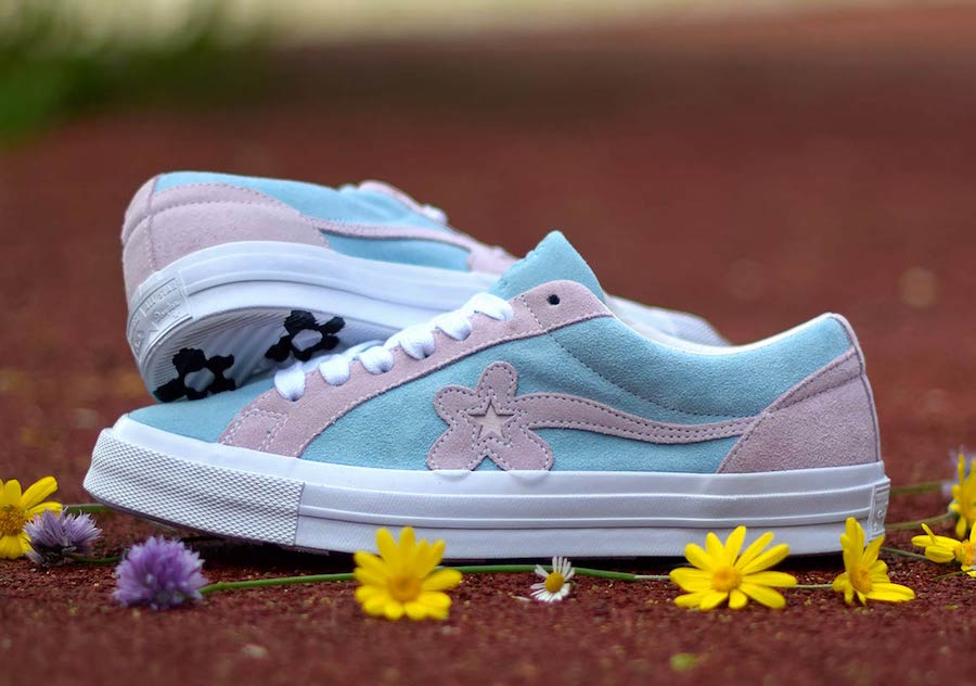 Converse One Star Golf Le Fleur Light Blue Pink