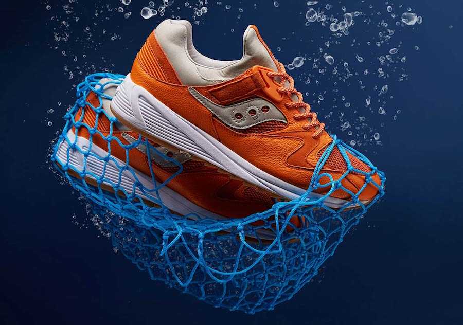 06128255fa27 END Saucony Grid 8500 Lobster Release Date - Sneaker Bar Detroit
