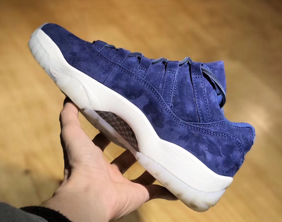 Jeter Air Jordan 11 Low RE2PECT