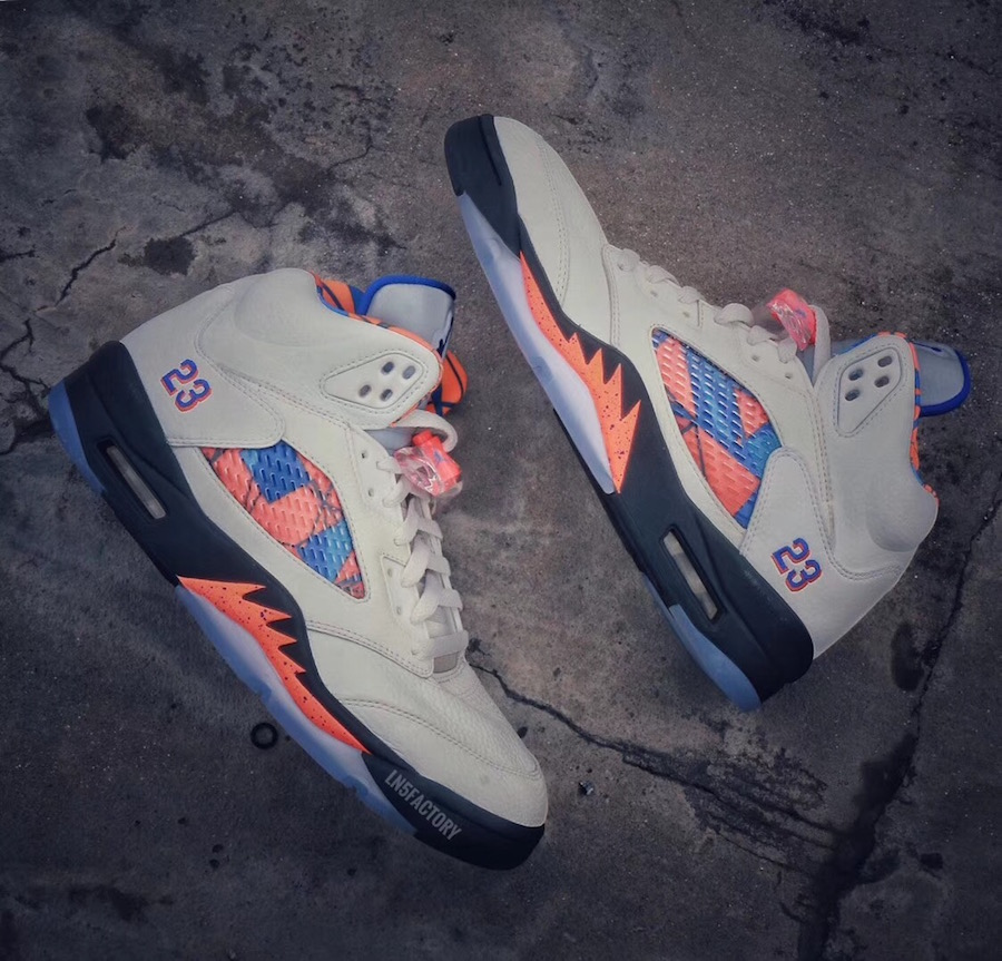 Jordan 5 International Flight