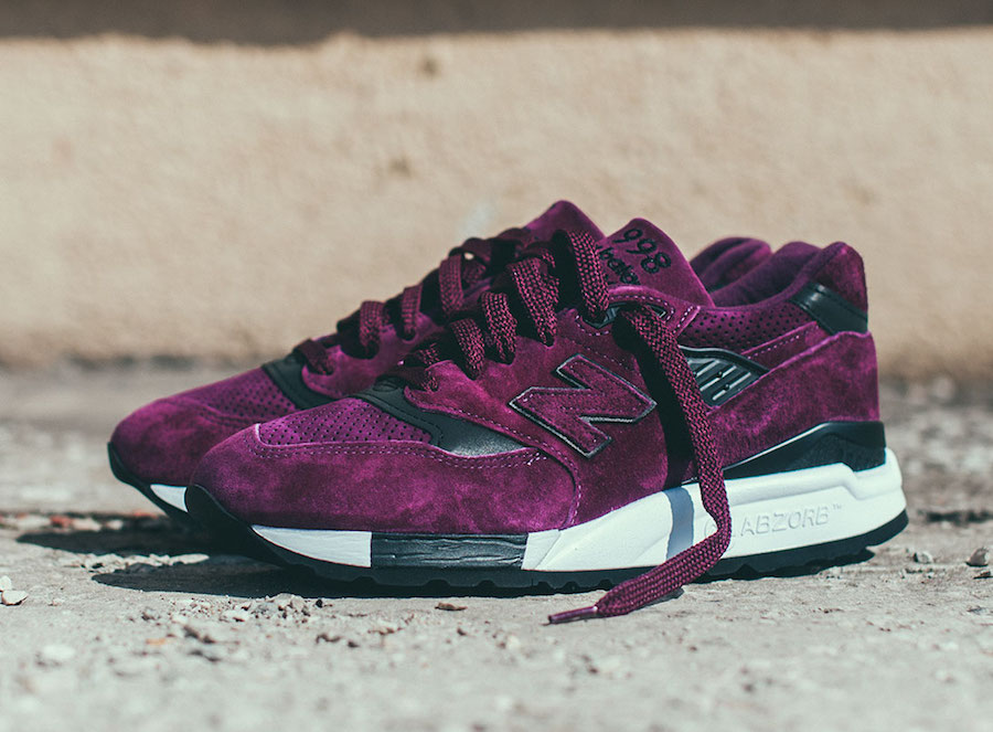 New Balance 998CM Purple Suede