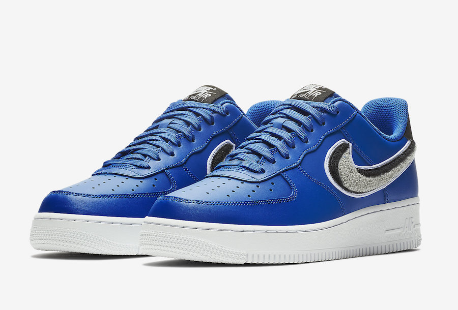 super popular 32a05 707b4 Nike Air Force 1 Low 3D Blue 823511-409 Release Date - Sneaker Bar ...