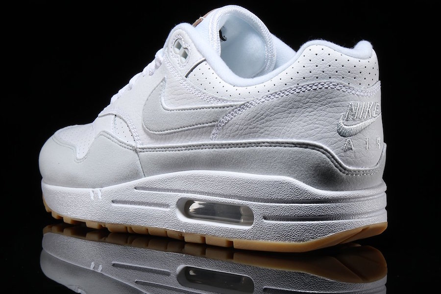 Nike Air Max 1 White Pure Platinum Gum AH8145-103