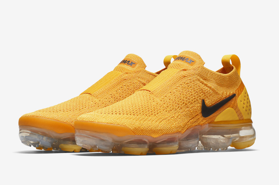 ad07335e4f Nike Air VaporMax Moc 2 University Gold AJ6599-700 - Sneaker Bar Detroit