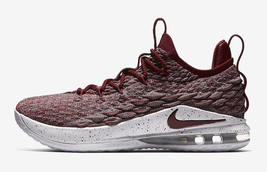 Nike LeBron 15 Low Team Red AO1755-200