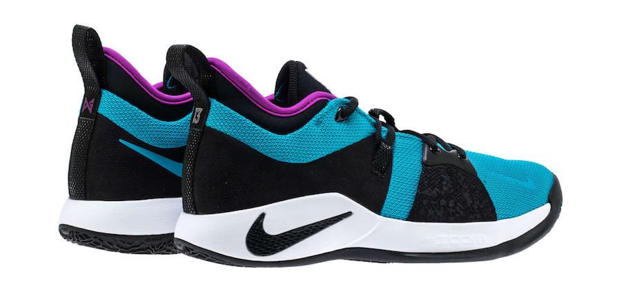 Nike PG 2 Blue Lagoon AJ2039-402 Release Date