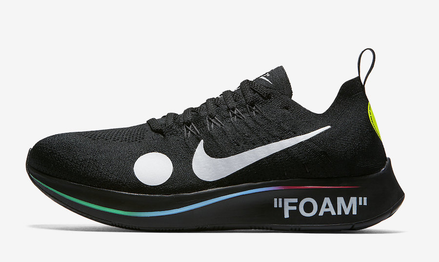 Off-White Nike Zoom Fly Mercurial Black AO2115-001 Release Date