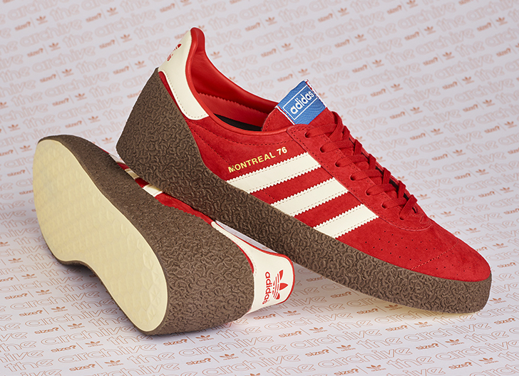 size? adidas Montreal 76 Red